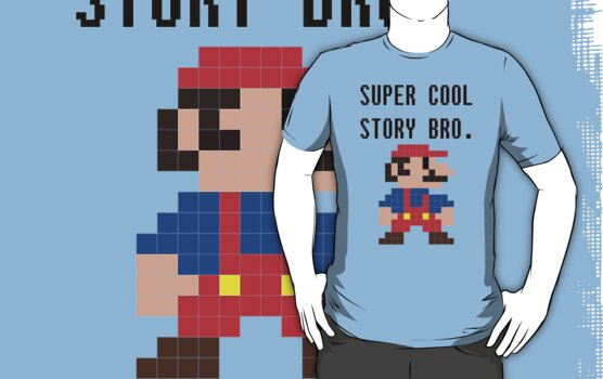 Super Cool Story Bro. (Mario) by Krydel