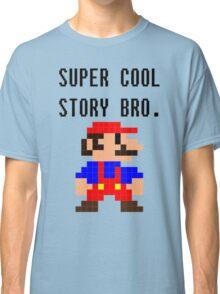 Super Cool Story Bro. (Mario) Classic T-Shirt