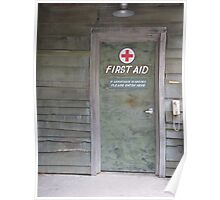 First Aid Door Dollywood Pigeon Forge, Tennessee Poster