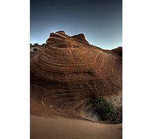 Red Rocks At Dawn Photographic Print