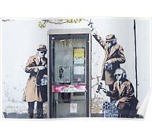 """""""We are Listening"""" Banksy Poster"""