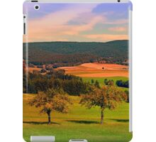 Two rival trees iPad Case/Skin