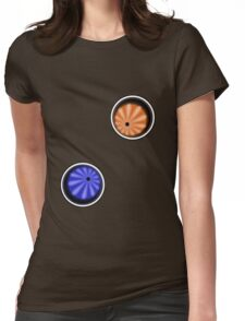 Two eyes in team Womens Fitted T-Shirt