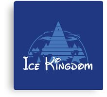 Ice Kingdom Canvas Print