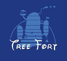 Tree Fort by Cowabunga