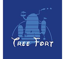 Tree Fort Photographic Print