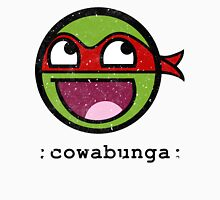 Cowabunga Buddy Squad: Raphael Womens Fitted T-Shirt