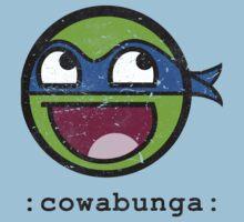 Cowabunga Buddy Squad: Leonardo Kids Tee