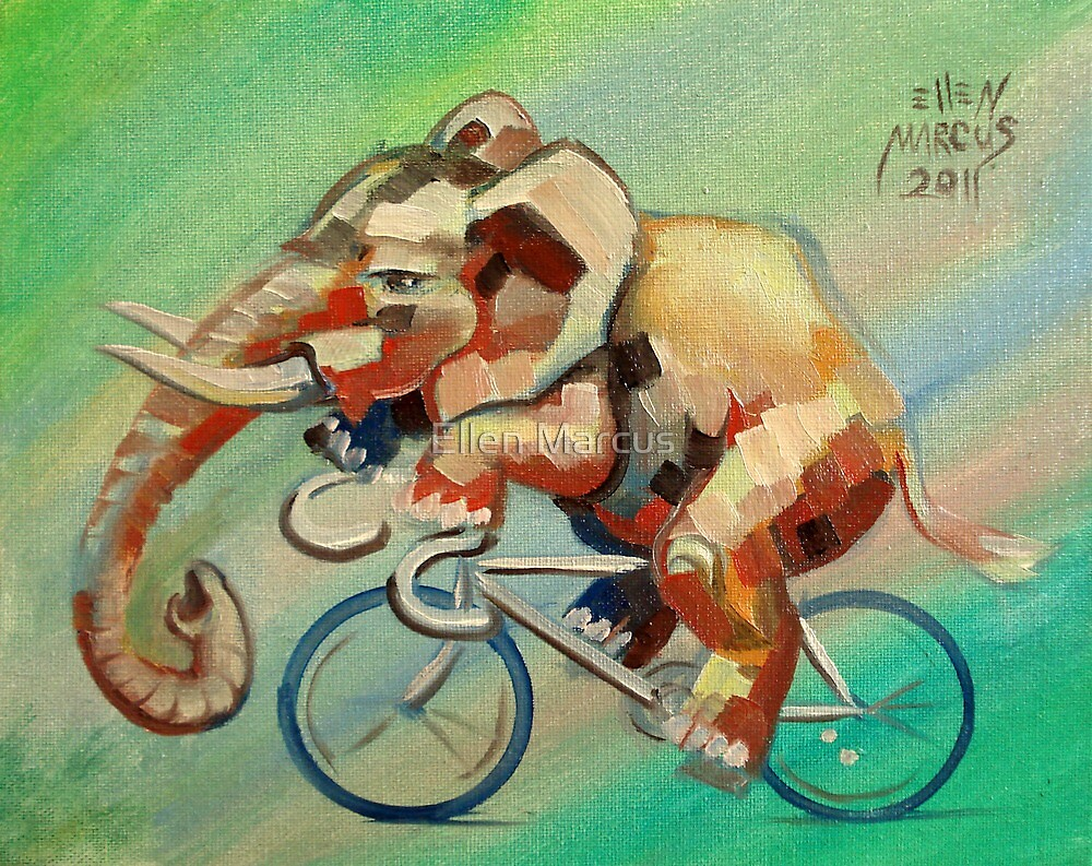 Elephant on a Bicycle by Ellen Marcus