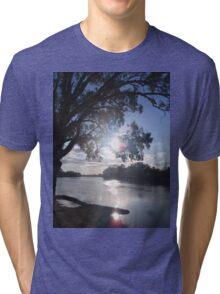 Sunset on the Murray Tri-blend T-Shirt