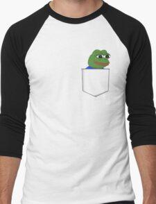Happy Pocket Pepe Men's Baseball ¾ T-Shirt