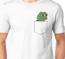 Happy Pocket Pepe Unisex T-Shirt