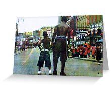 Beale Street, Memphis, TN Greeting Card