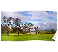 Sir Garry Oak and His Friends - Vancouver Island Poster