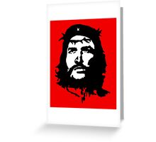 che jesus Greeting Card