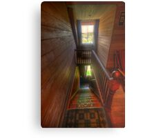 Upstairs , Downstairs - Craigmoor House c1875 - Hill End , NSW Metal Print