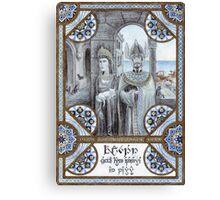 King Tarannon Falastur of Gondor Canvas Print