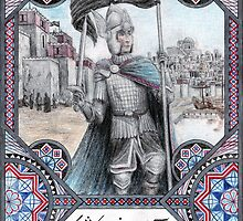King Earnil I of Gondor by Matěj Čadil