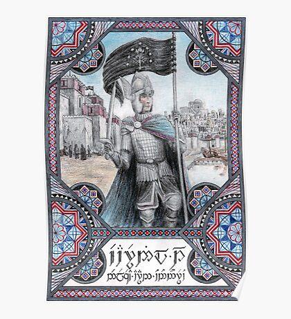 King Earnil I of Gondor Poster