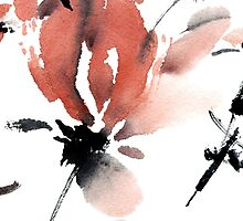 Sakura flower pattern by Tarakanova