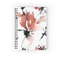 Sakura flower pattern Spiral Notebook