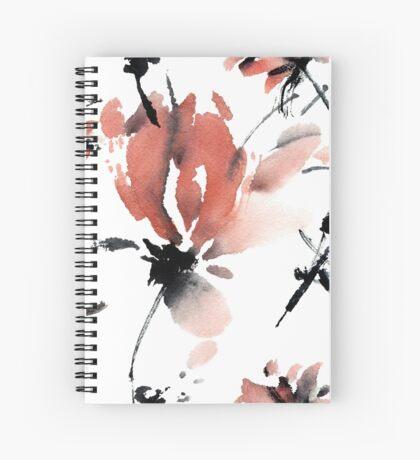 Sakura flower pattern Spiral Notebook