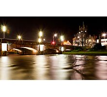 Musselburgh Silky by Night Photographic Print
