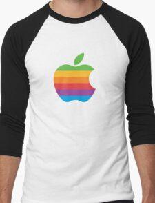Rainbow Apple Logo - Louis Tomlinson T-Shirt