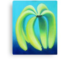 Meaningful Conversations About Bananas Canvas Print