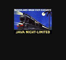Java Indonesia Vintage Travel Poster Restored Unisex T-Shirt