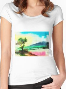 Dreamland Women's Fitted Scoop T-Shirt