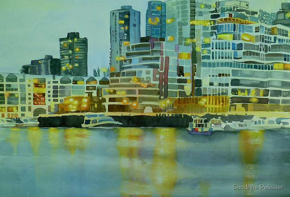 City Lights by Sandrine Pelissier