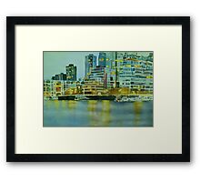City Lights Framed Print