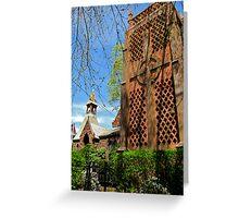 Carillon in Bristol, RI   Greeting Card