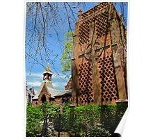 Carillon in Bristol, RI   Poster