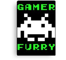 Gamer Furry Canvas Print
