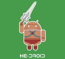 He-Droid Baby Tee