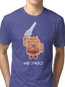 He-Droid Tri-blend T-Shirt