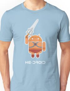 He-Droid Unisex T-Shirt