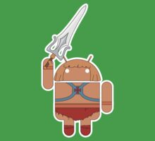 He-Droid (no text) Baby Tee