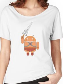 He-Droid (no text) Women's Relaxed Fit T-Shirt