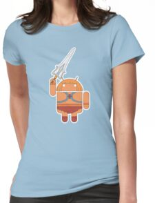 He-Droid (no text) Womens Fitted T-Shirt