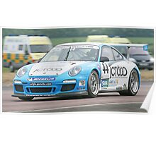 Porsche @Thruxton Poster