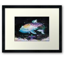 Wind Fish (21 left!) Framed Print