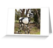 Cow Mail Greeting Card