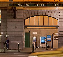 Flinders Street Station  Melbourne Victoria by James  Key