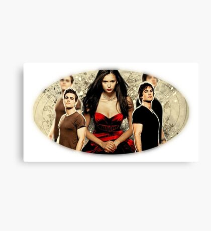 The Vampire Diaries Canvas Print