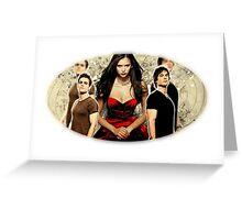 The Vampire Diaries Greeting Card