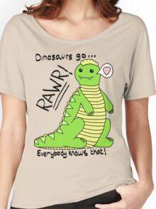 Dinosaurs Go Rawr! Women's Relaxed Fit T-Shirt