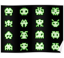 OMG Space Invaders Poster